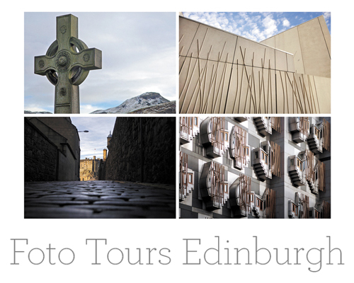 iconic images of edinburgh