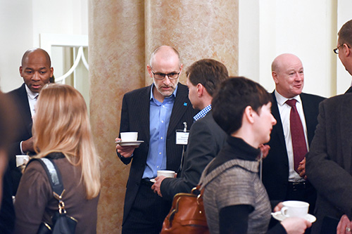 Edinburgh Chamber of Commerce Breakfast Connections event with Andrew Kerr, CEO Edinburgh City Council