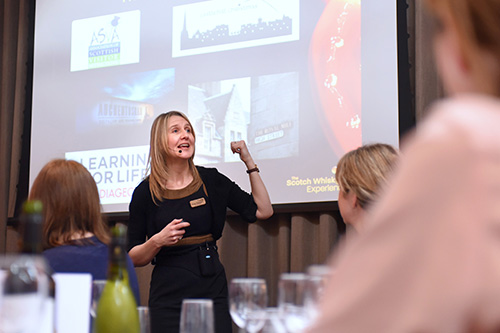 Susan Morrison, Scotch Whisky Experience, event photography edinburgh