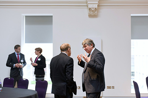 edinburgh chamber of commerce event, surgeons hall edinburgh