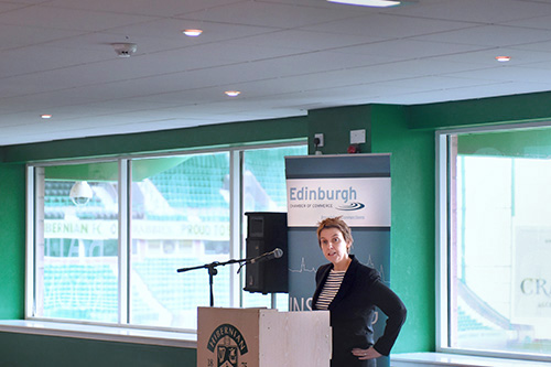 Edinburgh Chamber of Commerce with Leanne Dempster, conference and corporate event photography edinburgh