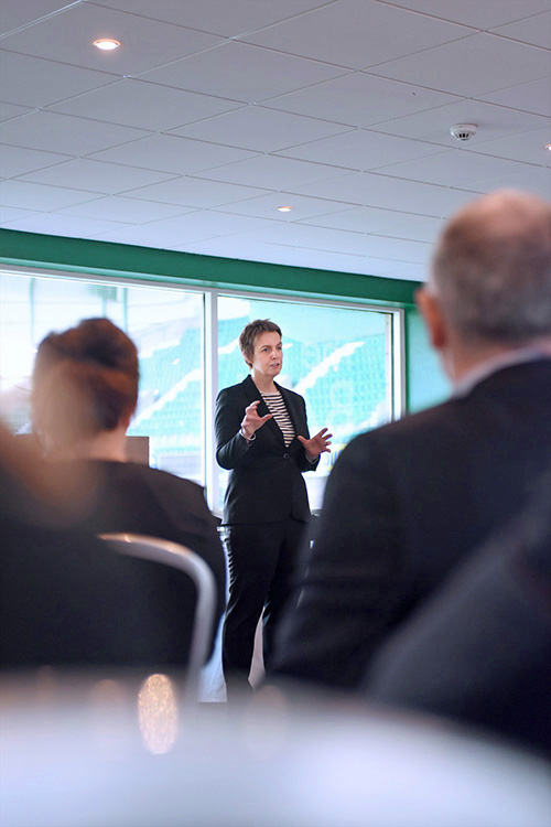 Responsible Business Event with Leeann Dempster