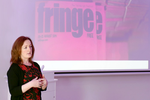 Inspiring Women in Business, Shona McCarthy, Edinburgh Festival Chief Executive
