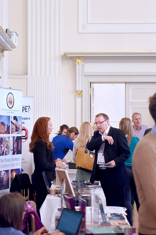 ETAG tourism showcase at the assembly rooms edinburgh