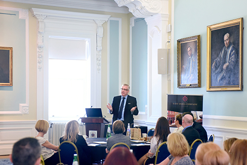 Edinburgh Chamber of Commerce Breakfast Connections with Sandy Begbie