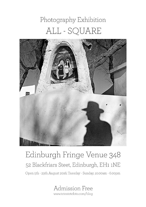 ed fringe photography exhibition poster 2016