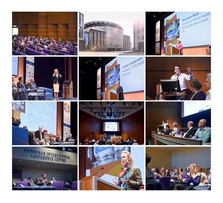 Conference and Event Photography at the Edinburgh International Conference Centre. EURORDIS conference photographs