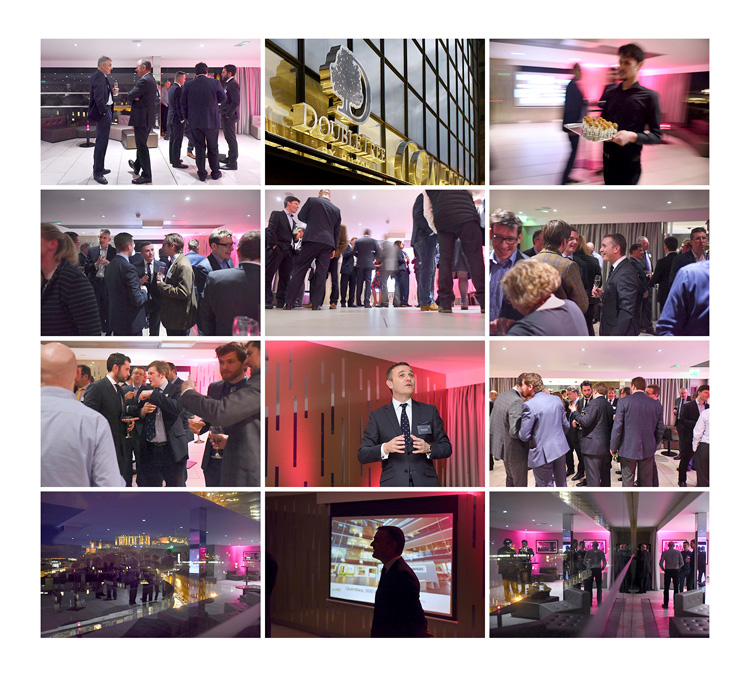 Conference and Event Photography for Scott Brownrigg at double tree hilton edinburgh