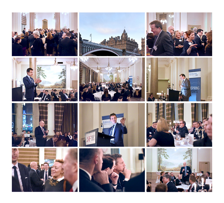 Andy Street, John Lewis. Conference and corporate event photography at the balmoral hotel edinburgh