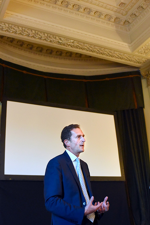 balmoral hotel events, simon fox, trinity mirror group speaks to ediburgh chamber of commerce members
