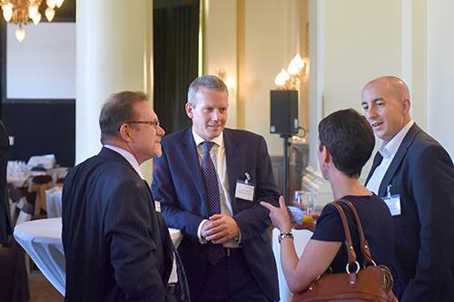 Edinburgh Chamber of Commerce Event Images. Simon Fox, Trinity Mirror Group at the Balmoral Hotel