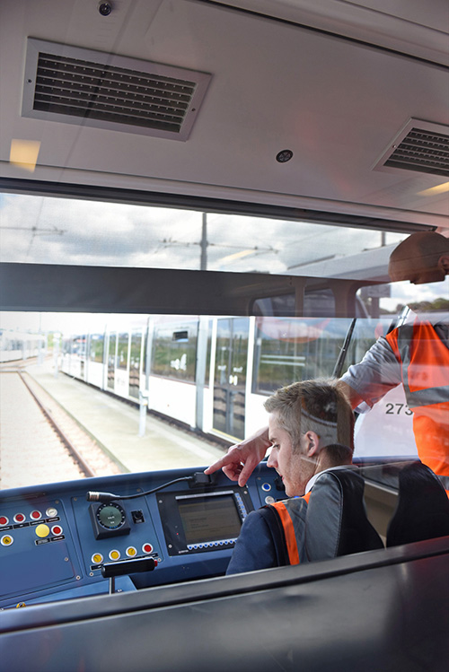 Edinburgh Chamber of Commerce Event Images. Edinburgh Tram Depot Visit