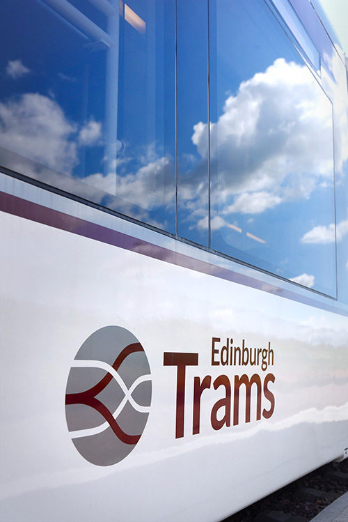 edinburgh chamber of commerce members at edinburgh tram depot