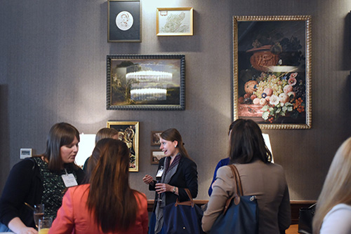 Edinburgh Chamber of Commerce Event Images. Inspiring Women in Business with Edel Harris, Cornerstone.