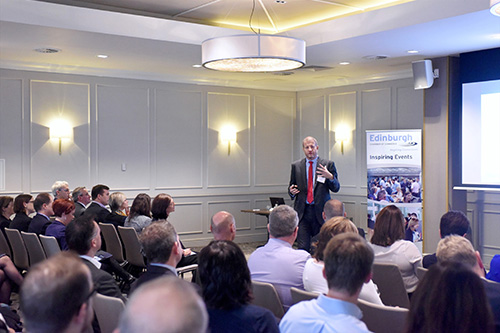 Edinburgh Chamber of Commerce Breakfast Connections with Phil Verster