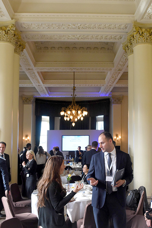 cyprus business forum edinburgh at the balmoral hotel, event and conference photography edinburgh