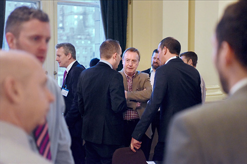 corporate event at the balmoral hotel edinburgh