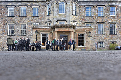 event photography of the DYW 2017 Roadshows at Newbattle Abbey College, the Corn Exchange in Haddington and the Hub in Edinburgh.