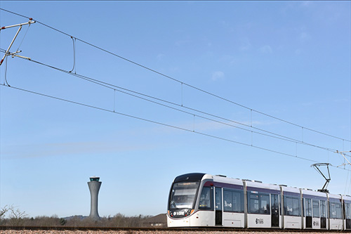 edinburgh trams pr images