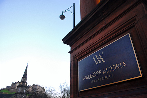 waldorf astoria edinburgh, the caledonian hotel