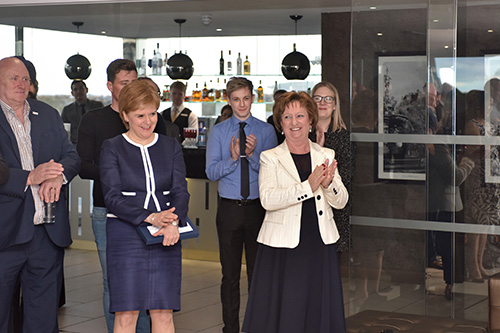 A Scottish Chamber of Commerce event with Nora Senior, Liz Cameron, Tim Allan and Nicola Sturgeon