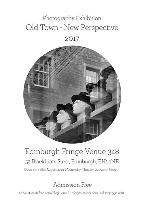Edinburgh Fringe Photography Exhibition 2017