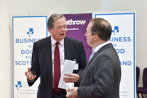 Edinburgh Chamber of Commerce Heathrow Business Summit
