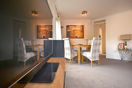 Interior photography of Sunbury Place Edinburgh holiday rental for Silver-Lining Apartments