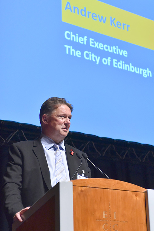 2050 Edinburgh City Vision Event at the EICC
